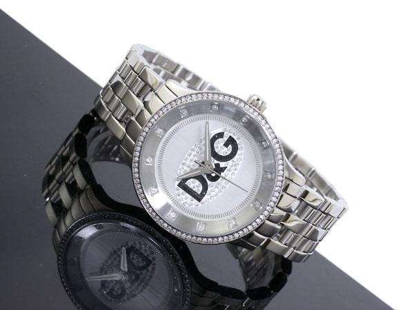 D&G ドルチェ&ガッバーナ 腕時計 プライムタイム  DW0145 メンズ レディース シルバー メタルベルト ブレスレット-2