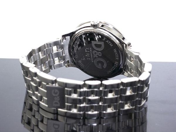 D&G ドルチェ&ガッバーナ 腕時計 プライムタイム  DW0145 メンズ レディース シルバー メタルベルト ブレスレット-3