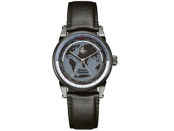 ヴィヴィアン ウエストウッド VIVIENNE WESTWOOD フィンズベリー メンズ 腕時計 VV065MBKBK ワールドタイム-1