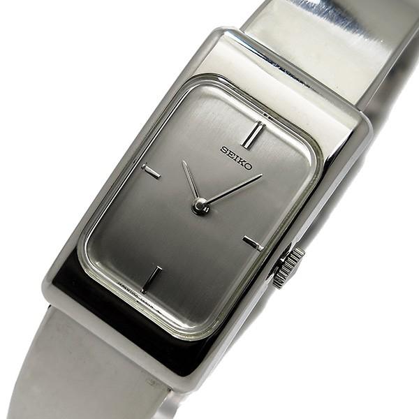 セイコー SEIKO 手巻き レディース 腕時計 ZWB13 シルバー-1
