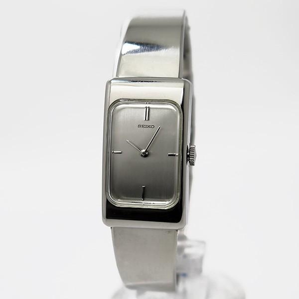 セイコー SEIKO 手巻き レディース 腕時計 ZWB13 シルバー-2