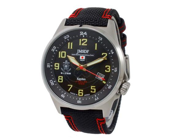 ケンテックス KENTEX JSDFソーラースタンダード メンズ 腕時計 S715M-03 ブラック-2