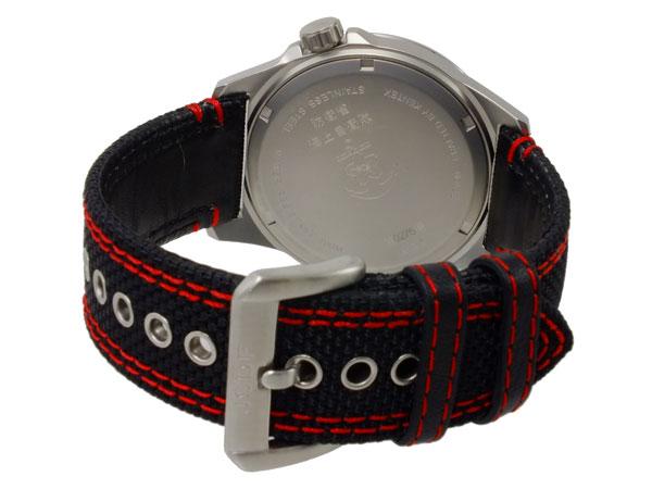 ケンテックス KENTEX JSDFソーラースタンダード メンズ 腕時計 S715M-03 ブラック-3