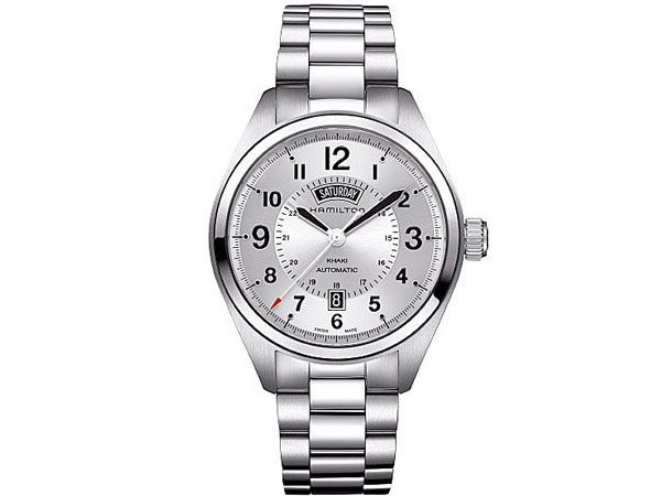ハミルトン HAMILTON カーキ フィールド デイデイト 自動巻き メンズ 腕時計 H70505153-1