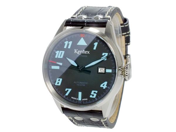 ケンテックス KENTEX スカイマンパイロット SKYMAN PILOT 自動巻 メンズ 腕時計 S688X-10-2