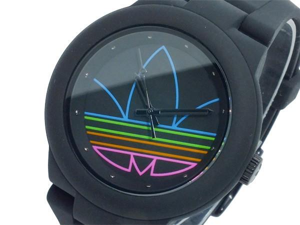 アディダス ADIDAS アバディーン クオーツ レディース メンズ 腕時計 ADH3014 ブラック-1