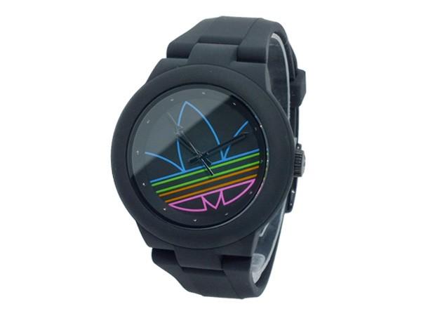 アディダス ADIDAS アバディーン クオーツ レディース メンズ 腕時計 ADH3014 ブラック-2