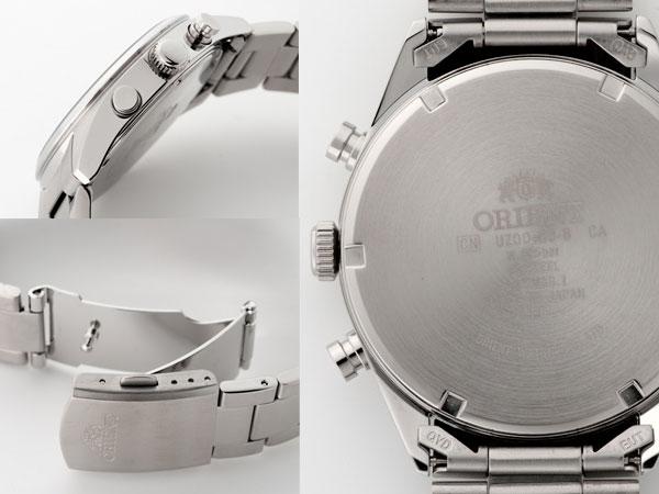 オリエント ORIENT ネオセブンティーズ パンダ メンズ 腕時計 クロノグラフ WV0021UZ-2