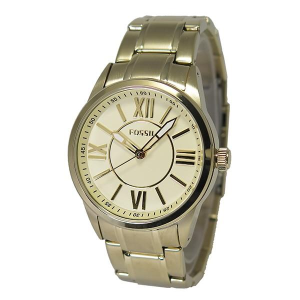 フォッシル FOSSIL クオーツ メンズ クロノ 腕時計 BQ1136 ゴールド-2