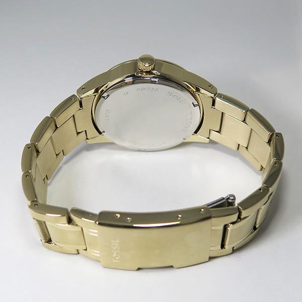 フォッシル FOSSIL クオーツ メンズ クロノ 腕時計 BQ1136 ゴールド-3
