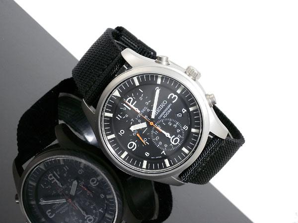 セイコー SEIKO 逆輸入 クロノグラフ クォーツ メンズ 腕時計 SNDA57P1-2