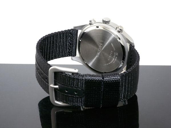 セイコー SEIKO 逆輸入 クロノグラフ クォーツ メンズ 腕時計 SNDA57P1-3