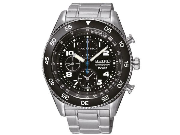 セイコー SEIKO 逆輸入 クロノグラフ クォーツ メンズ 腕時計 SNDG59P1-1