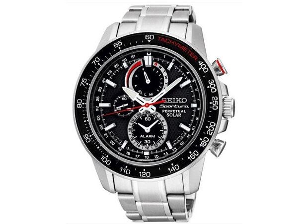 セイコー SEIKO スポーチュラ 逆輸入 ソーラー パーぺチュアル メンズ 腕時計 SSC357P1-1