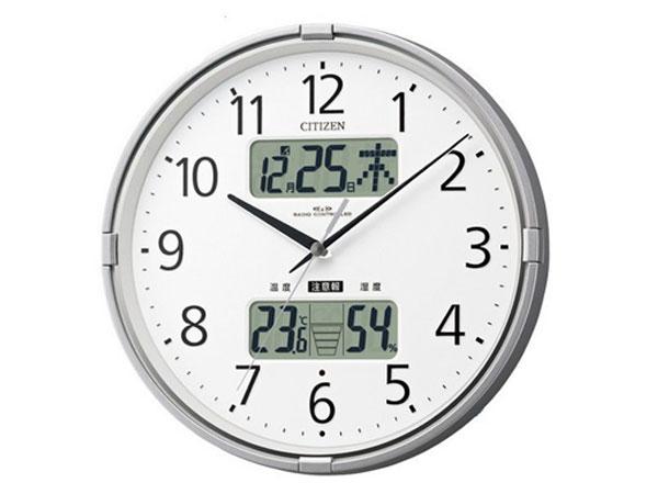 シチズン CITIZEN 電波掛時計 インフォームナビF 4FY618-019-1