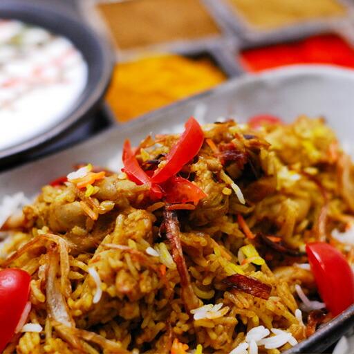 チキンビリヤーニ(200g) 【ビリヤニ】【インド料理】【神戸アールティー】【通販】 【RCP】
