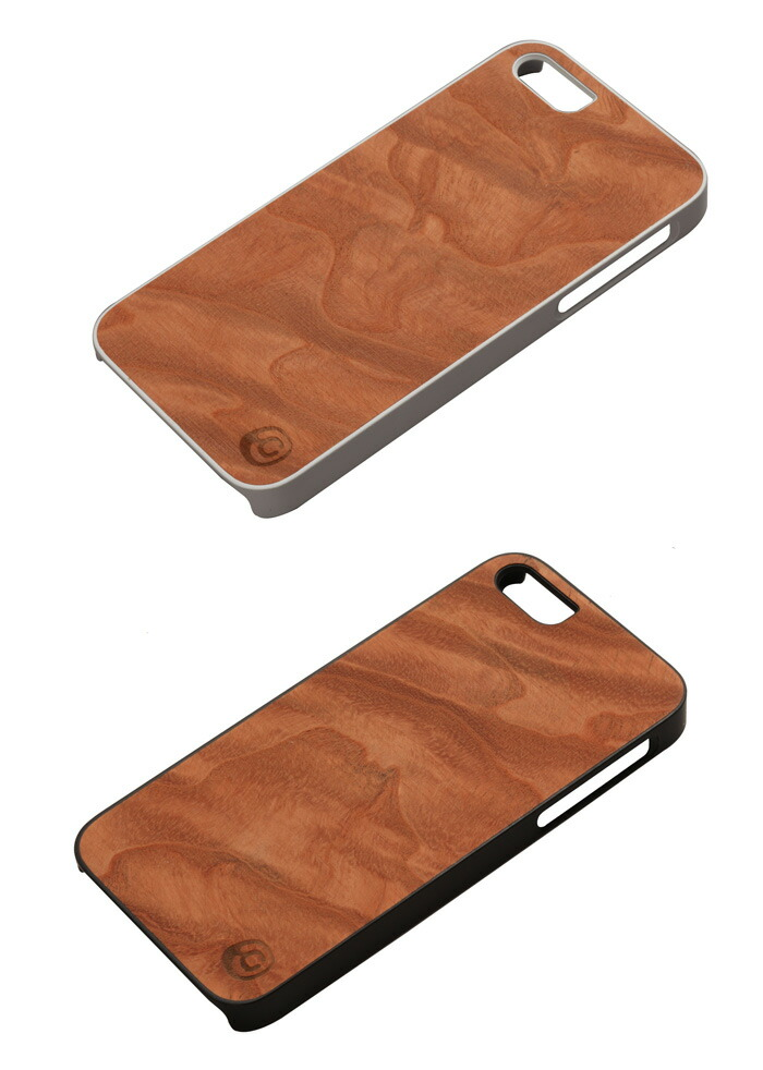 77a7700db0 iPhone SE/5/5s】 Man&Wood Real wood case Genuine Magma(マンアンド ...