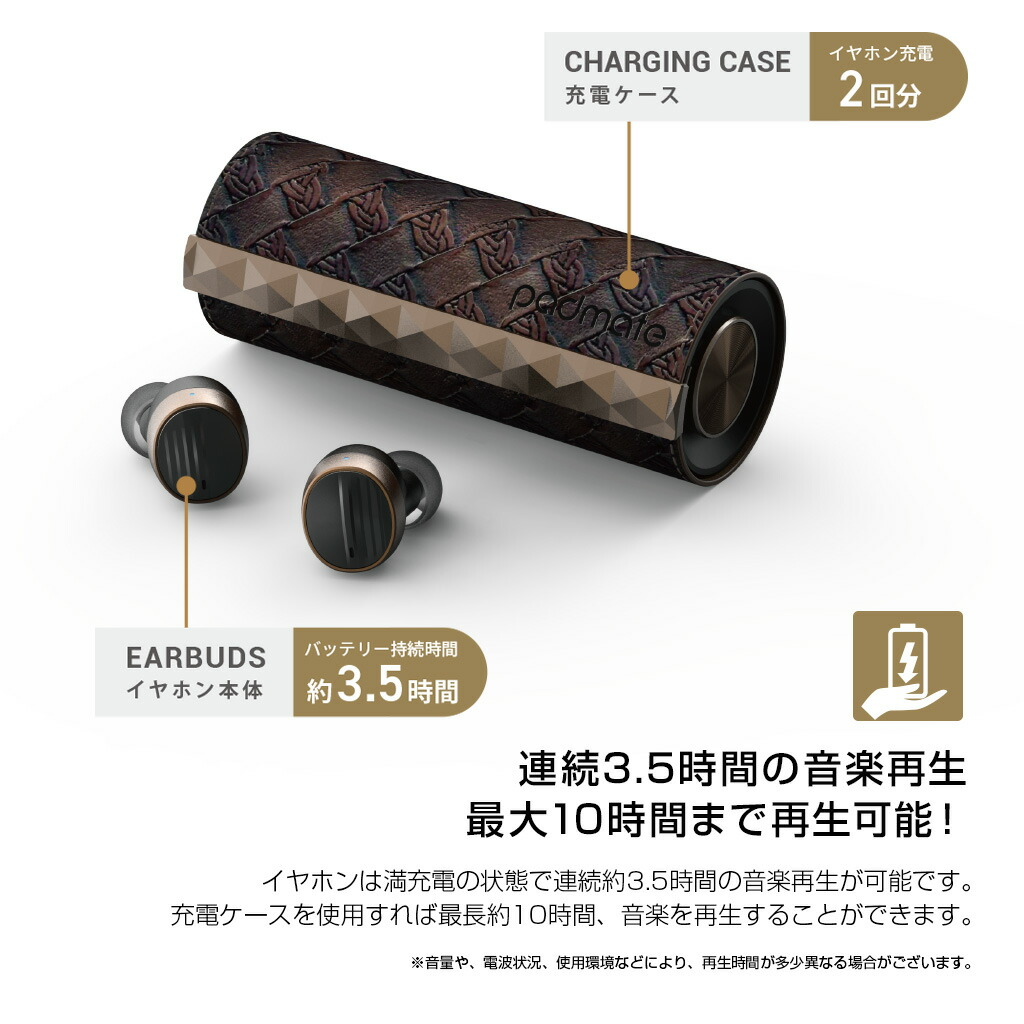 Bluetooth earphone perfection wireless earphone PaMu Scroll (PAM scroll)  super light weight right and left independent full independence Padmate  radio