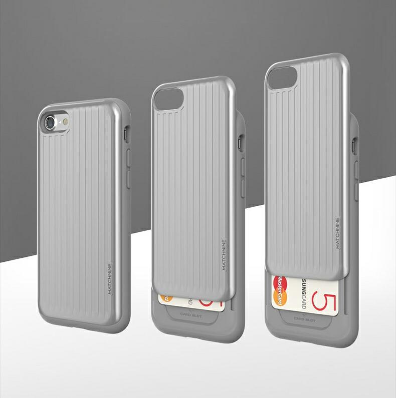 887c67d8fb マッチナイン カードラキャリア)アイフォン カバー. iPhone8/7 ケース. Matchnine CARDLA CARRIER スライド式カード 収納
