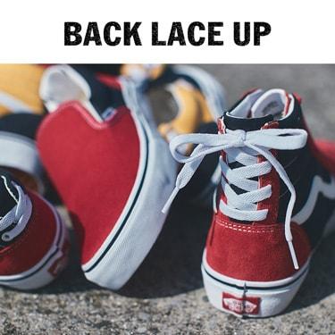BACK LACE UP