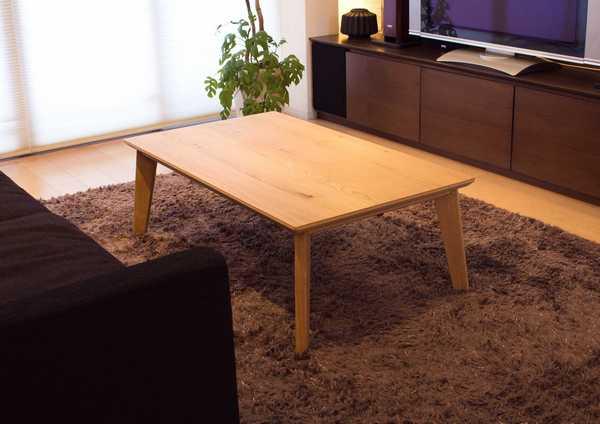 OW-004 パリス120(MM) センターテーブル リビング ローテーブル KYOURITU 和風 洋風 こたつ コタツ kotatu シンプル