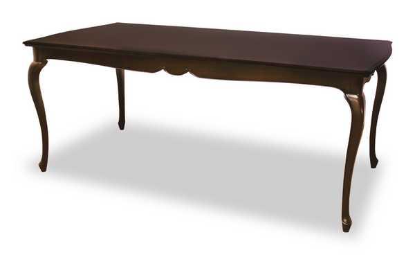 DT180 fleur 180cm幅 6人用 ダイニング テーブル 食堂 テーブル 机 猫脚 アンティーク 欧風 ヨーロッパ 猫脚 白家具
