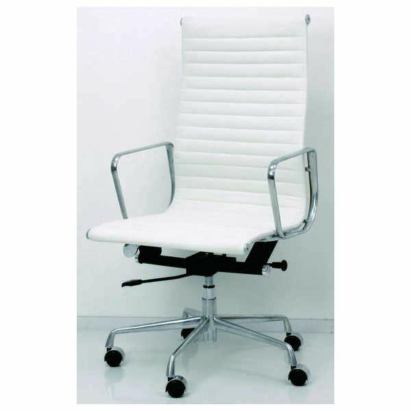 KL-702 WH BK アルミナムグループチェアー ソフトパッド ハイバック デスクチェアー デスクチェアー PCチェアー パソコンイス 学習椅子 いす デザイナー イームズ リプロダクト品