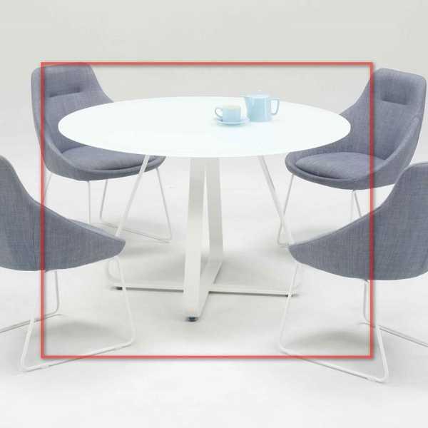 E171 ダイニングテーブル Lily直径100cm幅 丸形 円形 円型 食堂テーブル 机 単品販売 洋風 北欧風