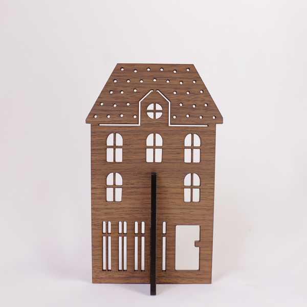 YK15-012 ピアスホルダー HOUSE ピアス掛け 保管 収納 整理 一人暮らし 小物 新生活