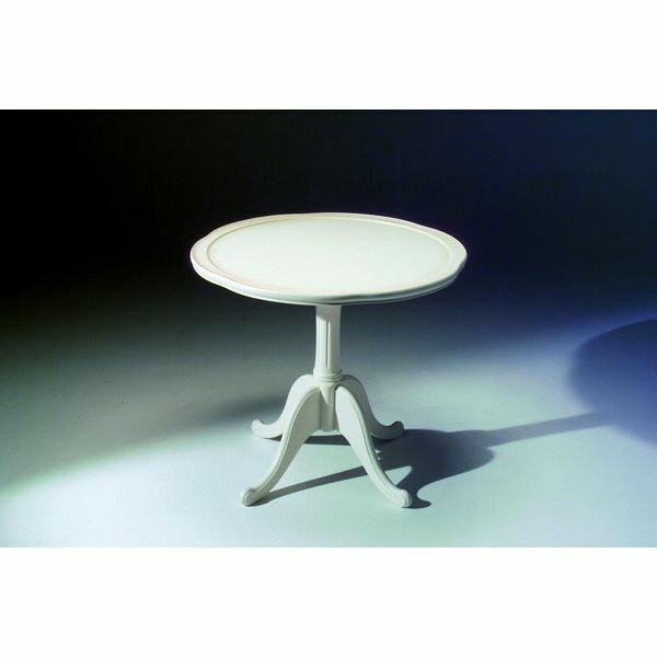 E-01 ティーテーブル tea table コンパクトテーブル コーヒーテーブル レストテーブル エレガント ゴージャス 豪華 繊細 白家具 洋風 北欧 日本製