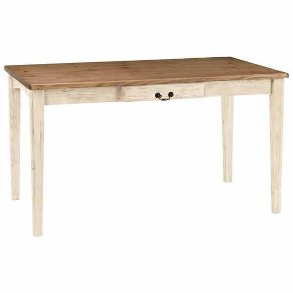 O1156 ダイニングテーブル 125NA ガレット 125cm幅  長方形 食堂テーブル 机 単品販売 4人用 カントリー 北欧 country