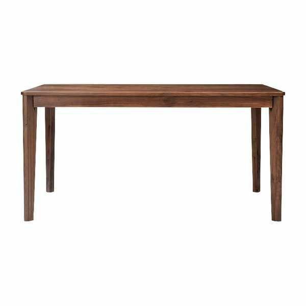 O1204 ダイニングテーブル 140DT WBR meets 140cm幅 ウォールナット無垢 長方形 食堂テーブル 机 キッチンテーブル 食卓