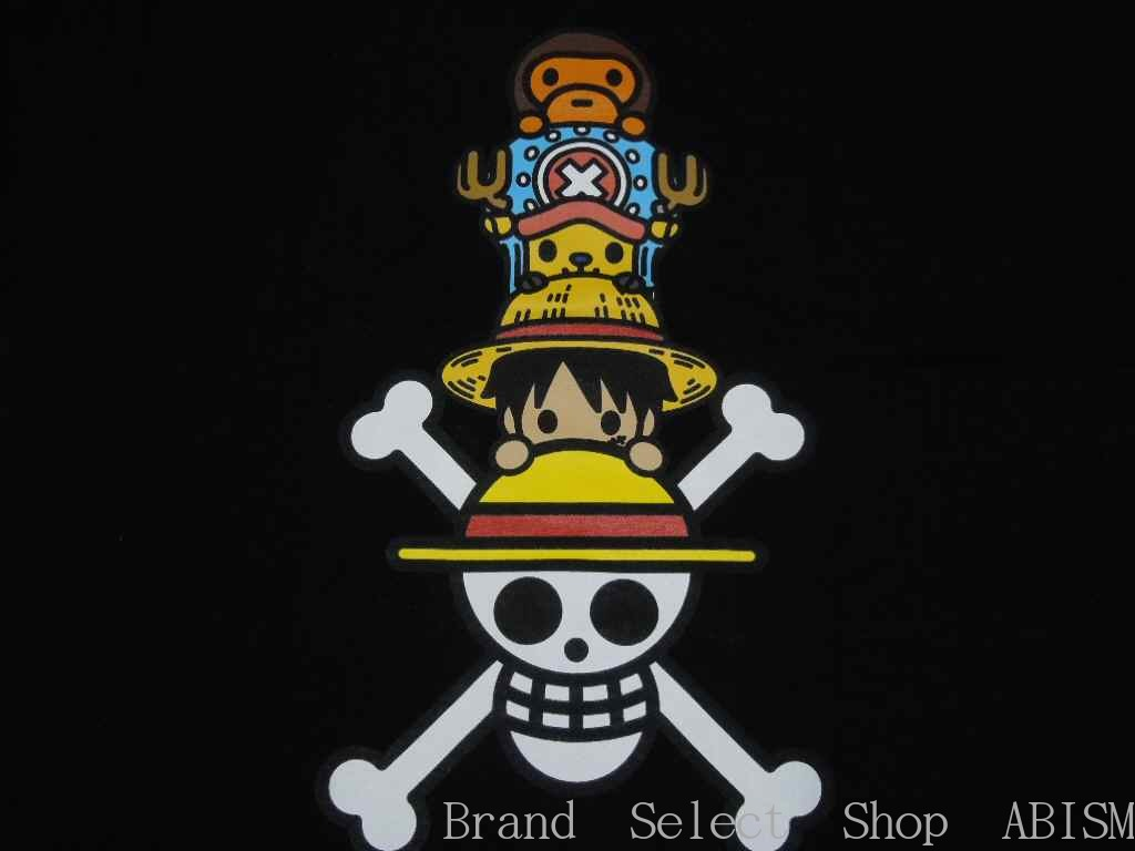 3e139fab Extreme popularity animation ONE PIECE (dress) It is の collaboration T-shirt.  This type is only Shinjuku Isetan