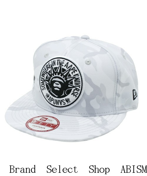d513d0b0ff9 AAPE BY A BATHING APE (EAP by bathing APE) AAPE NEW ERA CAP  White  CAP    Hat  New