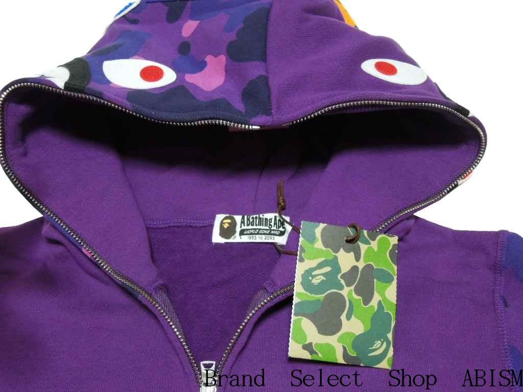 2e71713192de7 ... A BATHING APE (APE) COLOR CAMO SHARK FULL ZIP HOODIE shark full zip  hoodies ...
