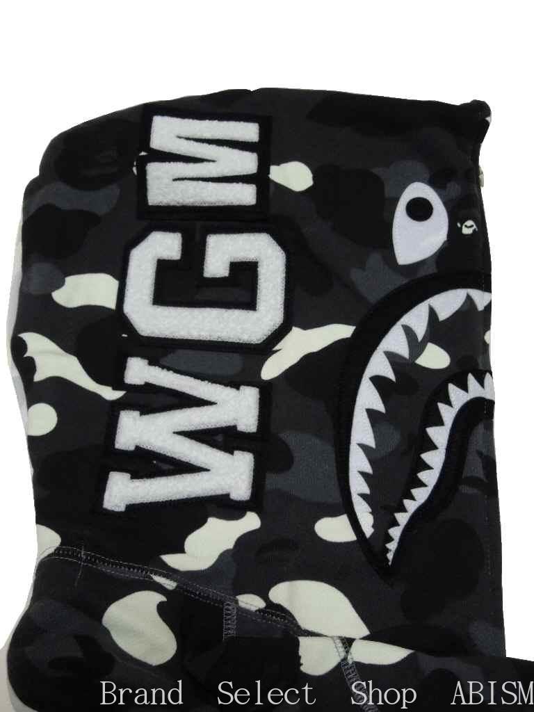 26de513aef ... A BATHING APE (エイプ) CITY CAMO HALF SHARK FULL ZIP HOODIE shark full zip  ...