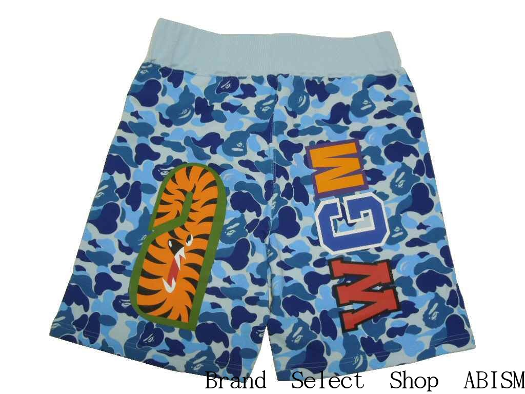 0709c76c27 [collect on delivery impossibility] A BATHING APE (エイプ) ABC SHARK SWEAT  SHORTS Shark sweat shirt shorts [blue CAMO] [new article] [product made in  Japan]