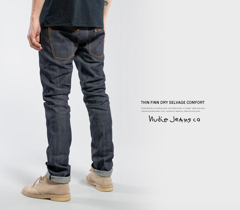 楽天市場 セルヴィッチ デニム nudie jeans ヌーディージーンズ thin