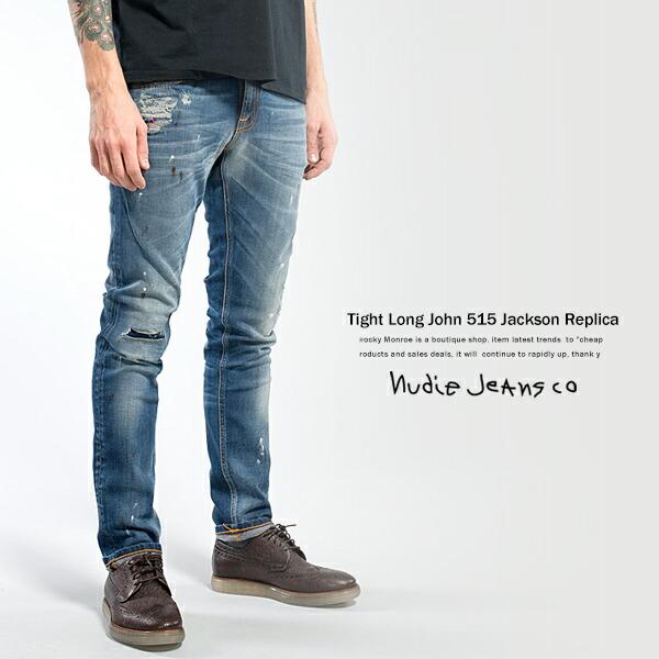 【Nudie Jeans】TIGHT LONG JOHN JACKSON REPLICA
