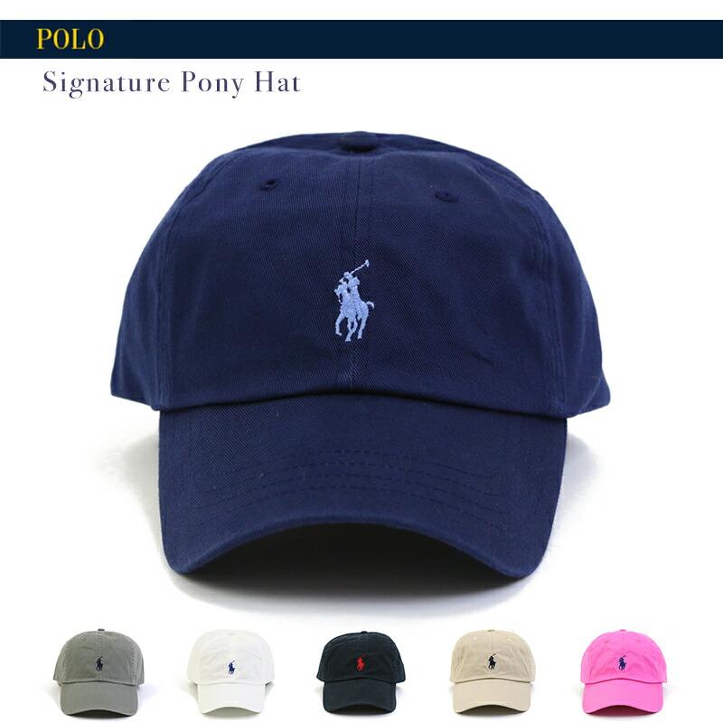 Polo by Ralph Lauren Signature hat
