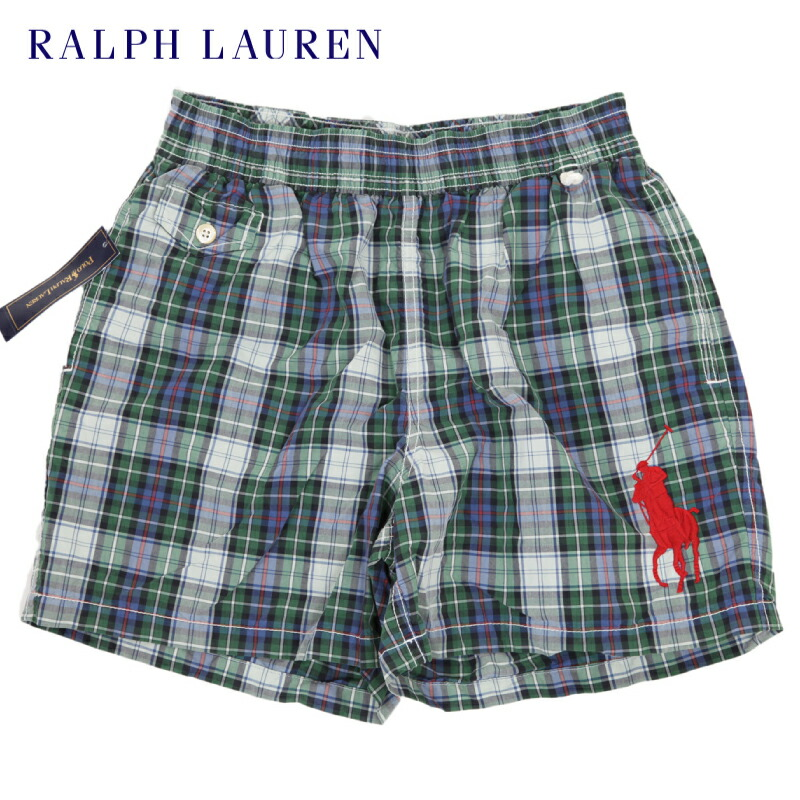 "Ralph Lauren Men's ""Multi Pony"" Shorts"