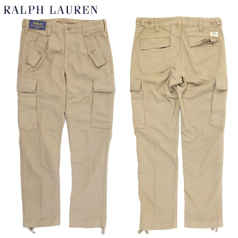 Polo by Ralph Lauren Men's Cotton Cargo Pants