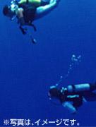 ヘルメット潜水イメージ
