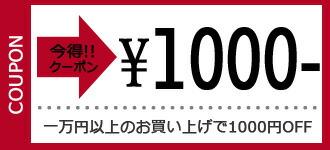 1万円以上で使えるクーポン券【1,000円オフ】