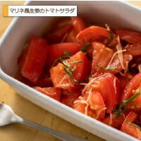 マリネ風生姜のトマトサラダ