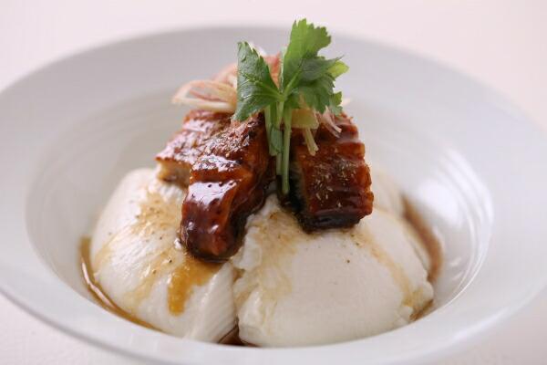 うなぎのくずし豆腐