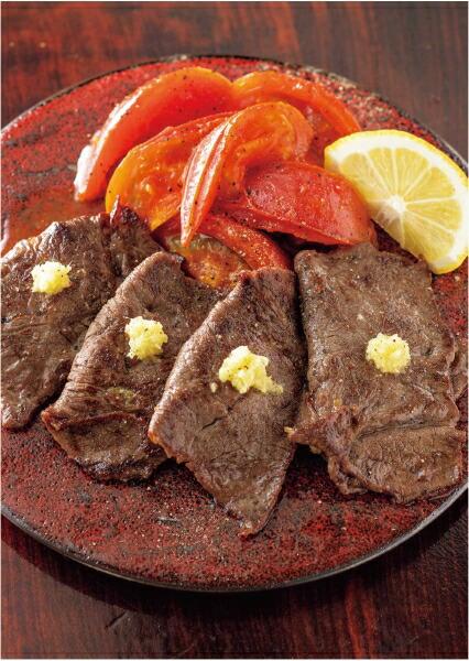 牛薄切り肉のネギ包み焼き