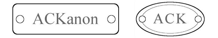 ACKanonのブランド商標タグ