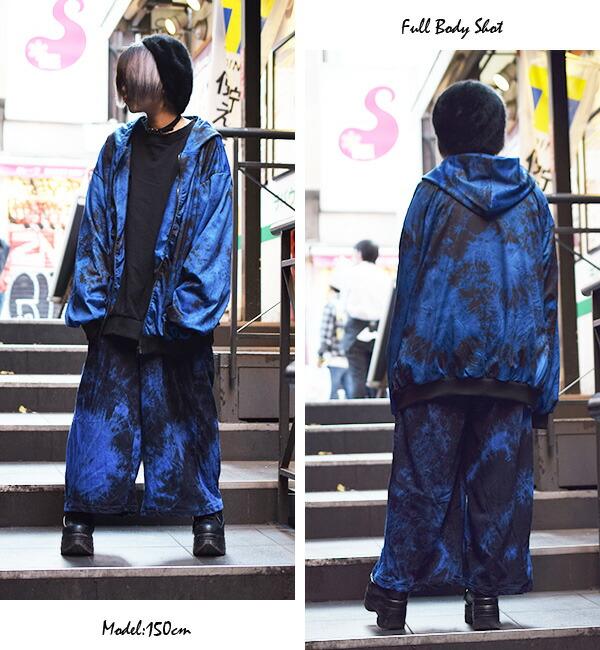 パンツ/ワイドパンツ/和柄/原宿系/ファッション/レディース