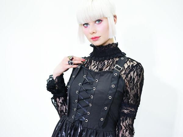 ワンピース/原宿系/ファッション/レディース/ゴシック/ロリータ/ゴスロリ/パンク/ロック/V系/ACDCRAG
